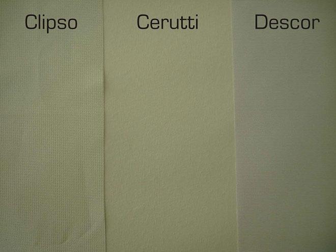 Различия структуры тканевых потолков