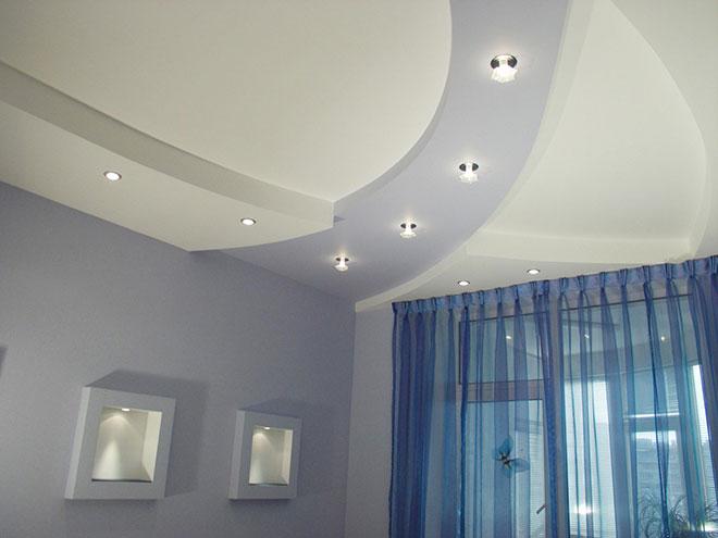 Растровые светильники для натяжного потолка