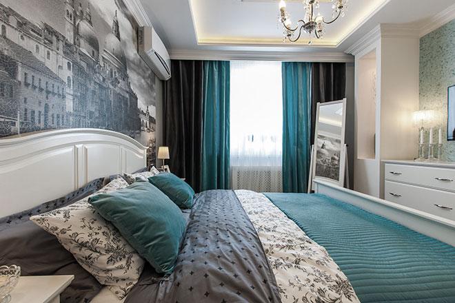 Парящий в спальне