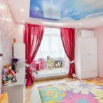 Потолок небо для комнаты девочки