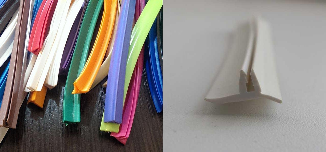 Разноцветные вставки для натяжных потолков
